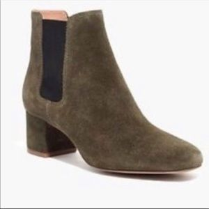 MadeWell Suede Chelsea Ankle Bootie